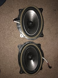 two black-and-gray coaxial speakers Alexandria, 22306