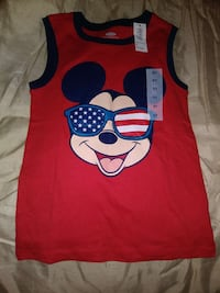 Toddler boy/girl mickey mouse tank Houston, 77091