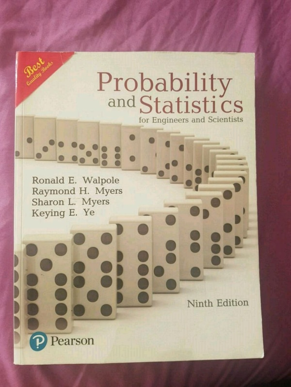 Book - Probability and Statistics
