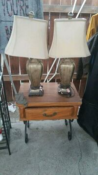Lamps and 2 night stands  Riverside, 92509