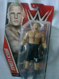 WWE Brock Lesnar action figure