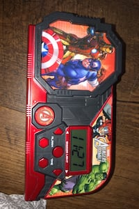 Marvel alarm clock