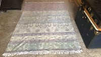white and gray floral area rug Baltimore, 21212