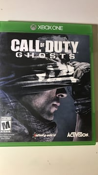 Call of Duty Ghosts Xbox One game case