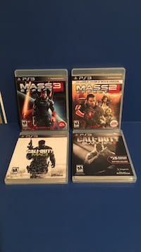 4 PS3 games New Windsor, 12553