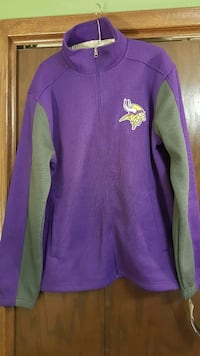 Men's Vikings full zip sweater Robbinsdale, 55422