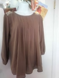 brown long-sleeved blouse Germantown, 20876