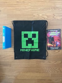 Minecraft -  books and MineFaire bag -  all for $8 Fremont, 94555