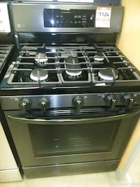 black and gray gas range oven Prince George's County, 20746