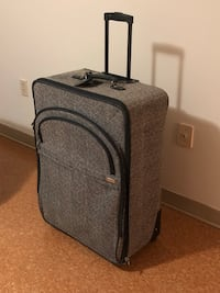 black and gray luggage bag Winnipeg, R2L 0R1