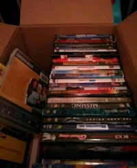 Lots of great DVDs and VHS tapes.  Oakton, 22124