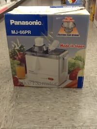 PANASONIC JUICE EXTRACTOR Wilmington