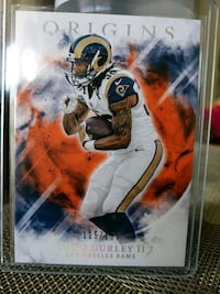 Rams Todd Gurley parallel card Paramount, 90723