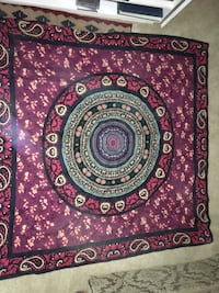 Red Mandala Tapestry Fairfax, 22030