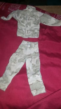 GI Joe two-piece Desert Storm outfit Indianapolis, 46219