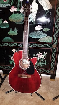 red cutaway acoustic guitar Alexandria, 22311