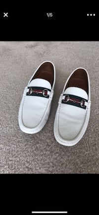 pair of white-and-black boat shoes Scottsdale, 85259