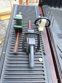 """I have 2 electric hedge trimmers 13"""" & 14""""  Hagerstown, 21740"""