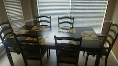 Brand new dining table with chairs