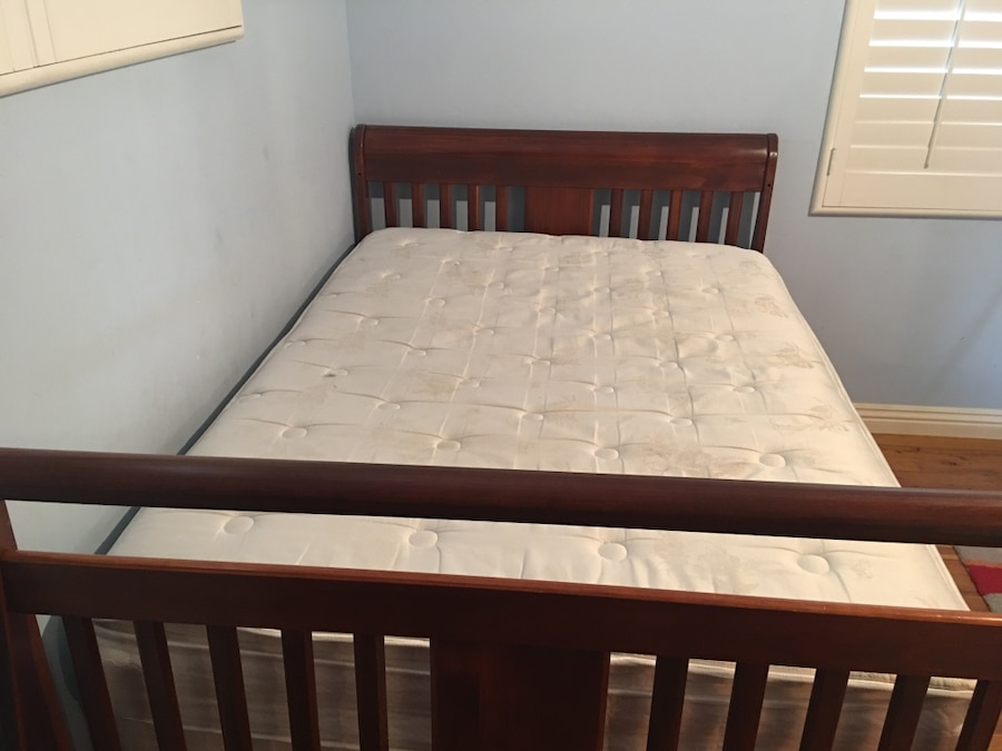 kids bedroom set goes from crib to toddler bed to full size bed rh us letgo com