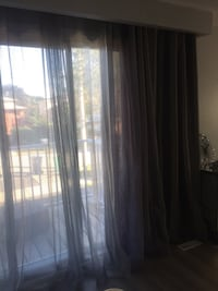 Elegant gray curtains  Mississauga, L5J 1C6