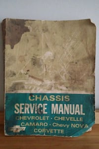 1969 Chassis Service Manual  Gaithersburg