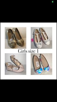 new flats $10 each pair size 1
