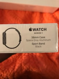 Black Apple Watch Washington