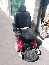 Black and red motorized wheelchair Eugene, 97404