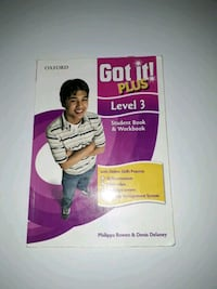2. El got it Plus level 3 Student's and work book