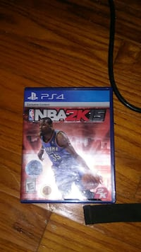 NBA2K15 Sony PS4 game case