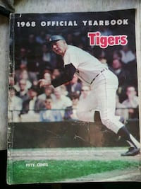 1968 detroit tigers yearbook Dearborn Heights, 48125