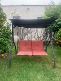 Covered Outdoor Chair Swing