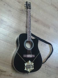 Acoustic/Electric Guitar William Cody´s (Buffalo Bill) PORTCOQUITLAM