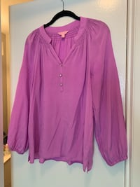 Purple Lilly Pulitzer Blouse Columbia, 21044