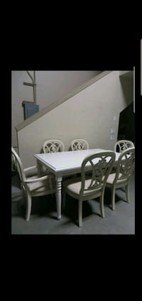 ~~~Brand New Dining Room Table & 6 Chairs