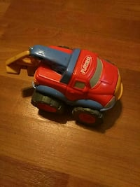 red and blue PlaySkool tow truck toy Tampa, 33613