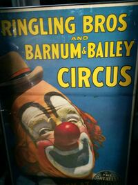 Ringling Bros and Barnum & Bailey Circus poster Harpers Ferry, 25425