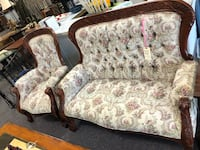 Settee Couch and chair Jacksonville, 28544