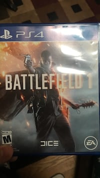 Battlefield 1 PS4 game case North Dinwiddie, 23803