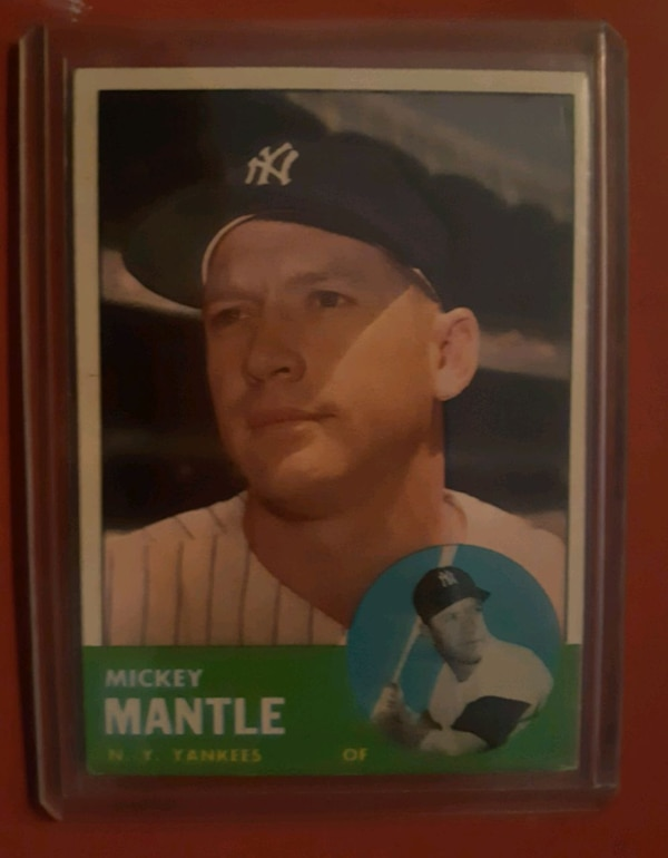 Mickey Mantle 1963 Topps Baseball Card