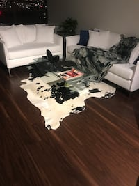 Beautiful cowhide rug