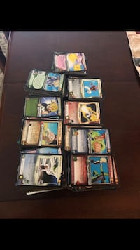 Dragon ball z cards (more than 450 + cards)