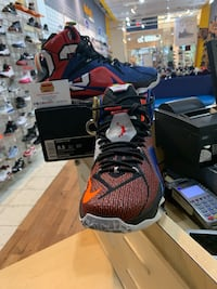 Nike Lebron 12 SE What The Size 8.5 Silver Spring, 20902