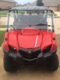 Red viking atv w/hard top roof, windshield and hard-sided gun cases 2015 700cc Dallas, 75246