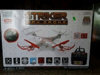 white and red quadcopter drone  Langley Township, V4W 4A7