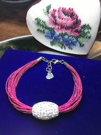Gorgeous! Hot Pink Bracelet with Diamond Crystal stones  Gainesville, 20155