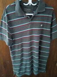 gray and white striped polo shirt Hamilton, L8M 1Z5