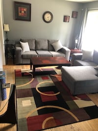 Couch and love seat with universal lounge cushion  Guelph, N1H