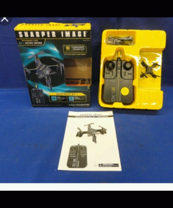 Used Sharper Image Dx 1 Drone For Sale In Conyers Letgo